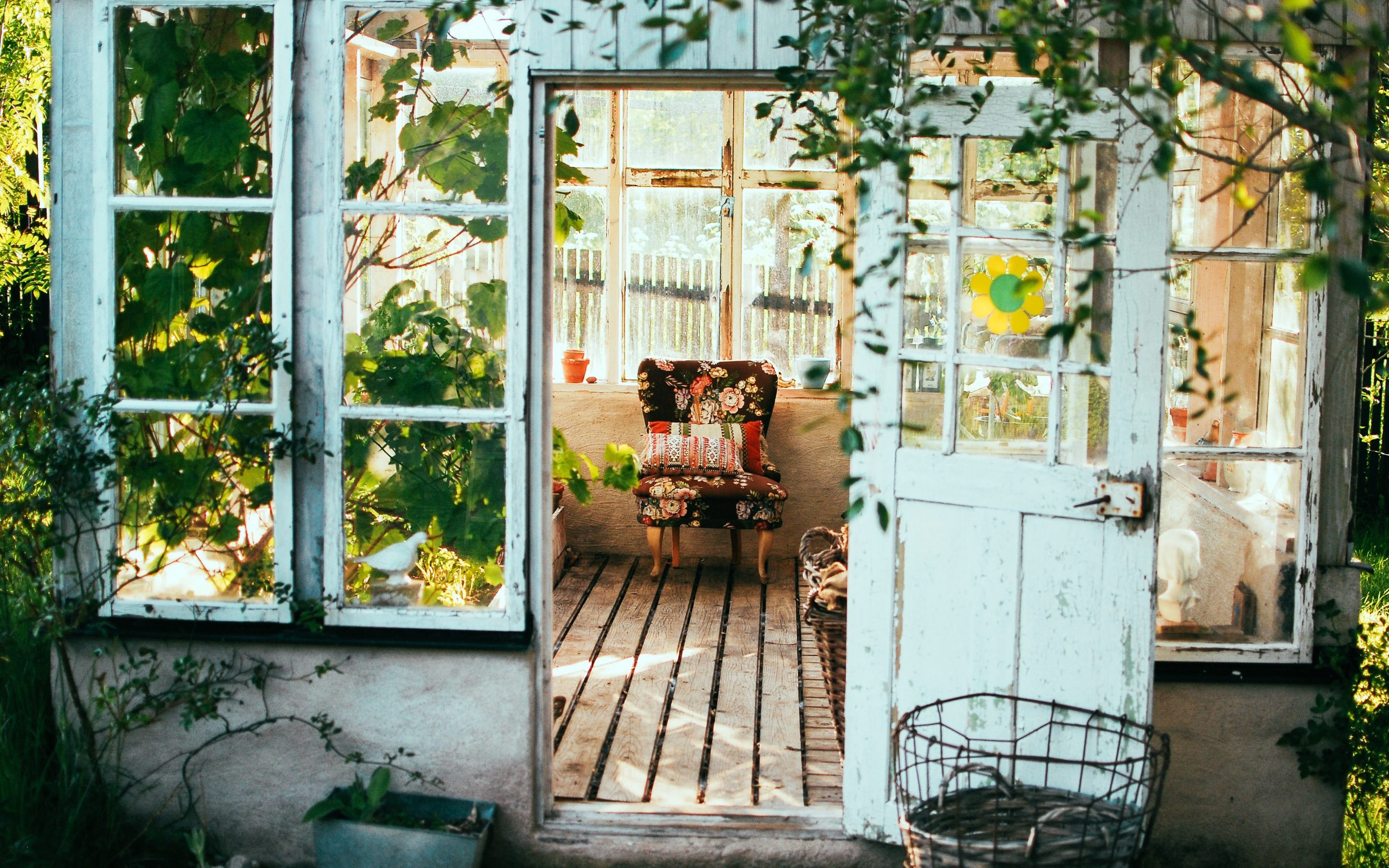conservatory - photo by arno smit - unsplash